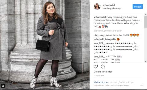 Die Bloggerin Schönwild hat eine sehr treue und aktive Fangemeinde.